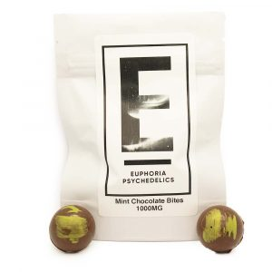 Euphoria Psychedelics - Mint Chocolate Bites 1000mg