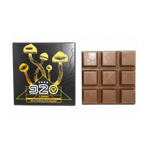 Room 920 Mushroom Chocolate Bar – Milk Chocolate Orange